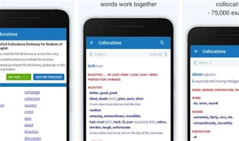 Modified Oxford Dictionary by Oxford Collocations Dictionary Mod Apk Free
