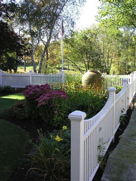 home depot front yard design fences white picket fence colorful flowers and fences