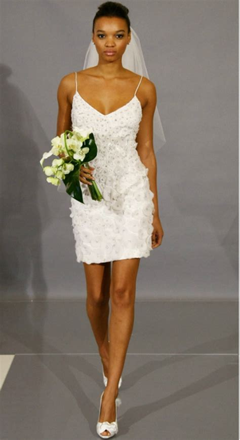 White Sort Wedding Dresses by Wedding Inspiration Center Chic White Wedding Dress