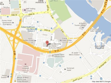 Office Location by Ramadan 2013 Dubai