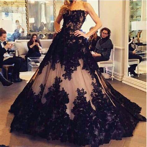 Brautkleider In Schwarz by Popular Black Wedding Gown Buy Cheap Black Wedding Gown