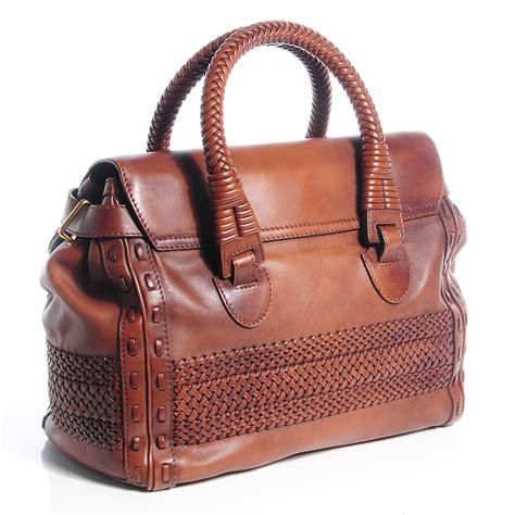 Gucci Handmade Bag - gucci leather handmade large top handle bag brown 76449