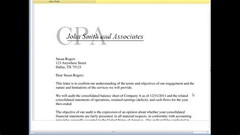 cpa engagement letter template securesignature on a cpa engagement letter