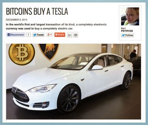 Buy Used Tesla Bitcoins Used To Buy A Tesla Keriblog