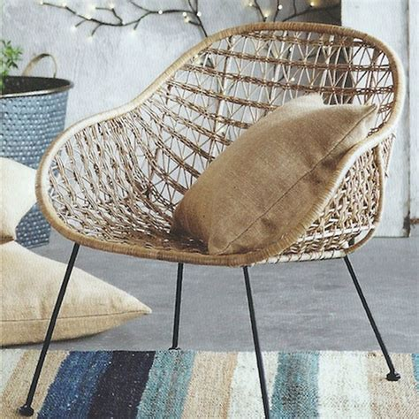 Basket Chair by Comet Basket Chair Eclectic Armchairs And Accent