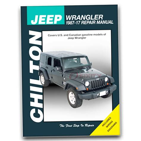 free online car repair manuals download 1994 jeep cherokee windshield wipe control chilton jeep wrangler 1987 11 repair manual 40650 shop service garage book be ebay