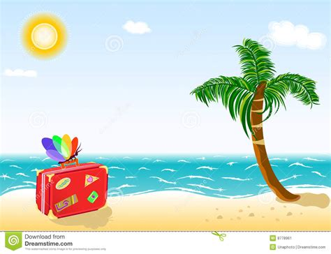 imagenes de vacaciones de verano para niños recorrido de las vacaciones de verano a la playa tropical