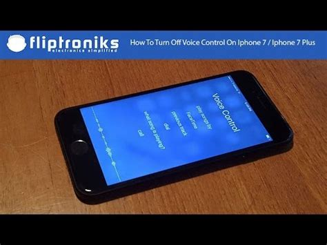 how to turn voice on iphone 7 iphone 7 plus fliptroniks