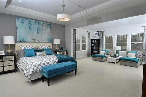 grey bedroom with teal accents the gallery for gt gray and teal bedroom