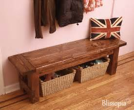Woodworking Plans Kitchen Island farmhouse bench wood dining bench entryway bench