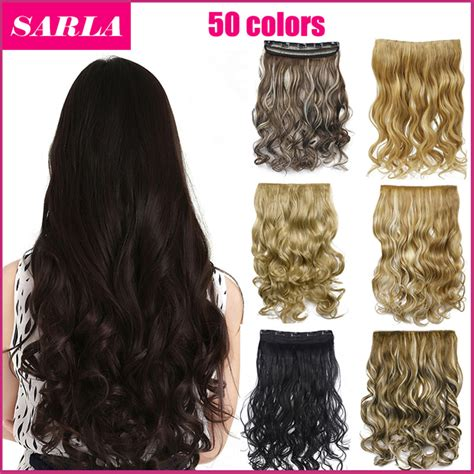 gfabke hair pieces in bsrrel curl 50 colors 130g 20inch 50cm synthetic clip in hair