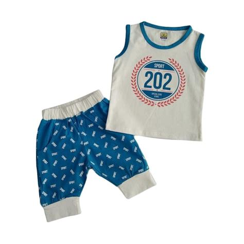 Baju Anak Pria Laki Setelan Go Usia 1 10 Tahun jual glowfish sb60 kaos setelan bayi laki laki usia 6 12