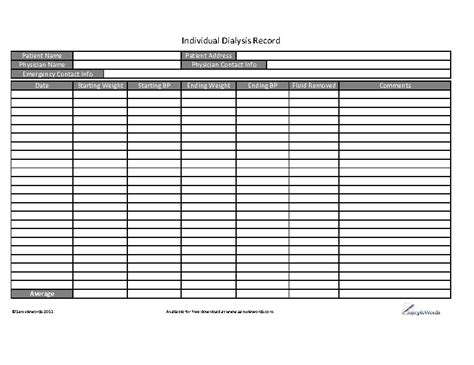 Search Results For Blood Pressure Record Sheet Calendar 2015 Dialysis Patient Schedule Template