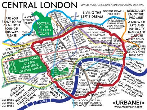 london sections map london neighborhood culture map urbane map store