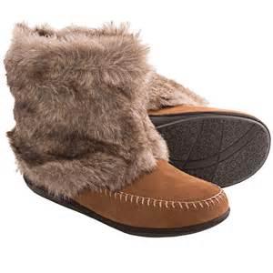 Daniel green trista slipper boots for women in chestnut