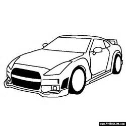 gtr coloring pages nissan gtr free coloring pages