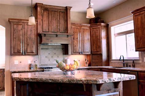 dark stained kitchen cabinets dark stained hickory cabinets image dark stained kitchen
