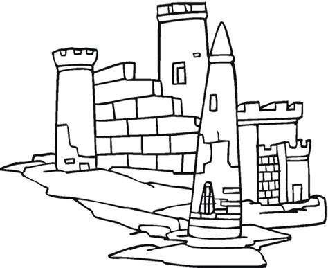 Minecraft Castle Coloring Page | minecraft castles free coloring pages