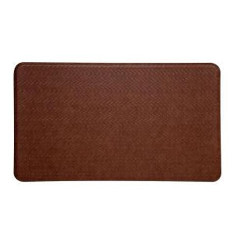 Anti Fatigue Mats Home Depot by Imprint Comfort Mat Cobblestone Toffee Brown 20 In X 36