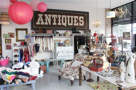 hot house market vintage shop boutique interior design