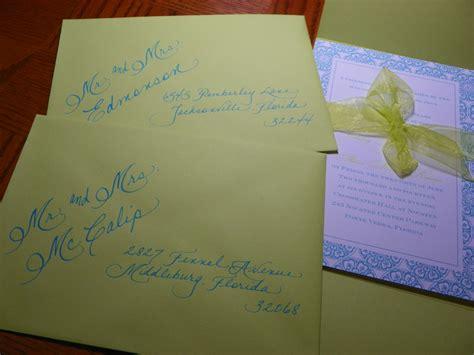 wedding invitations jacksonville fl wedding 171 jacksonville fl calligraphy for weddings