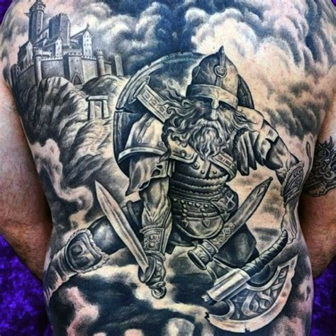 viking warrior tattoo designs 70 viking tattoos for germanic norse seafarer designs