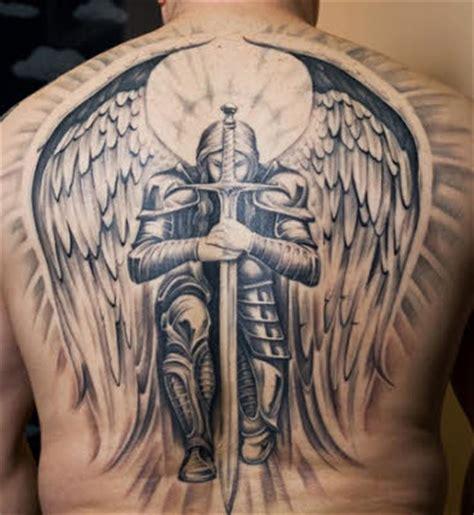 imagenes de tatuajes de warrior tatuajes en la espalda angel guerrero tatuajes para