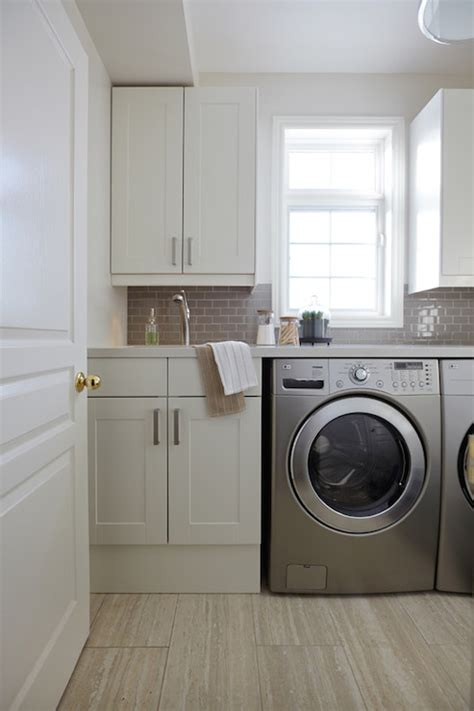washing whites with colors white flat front laundry room cabinets with dove gray