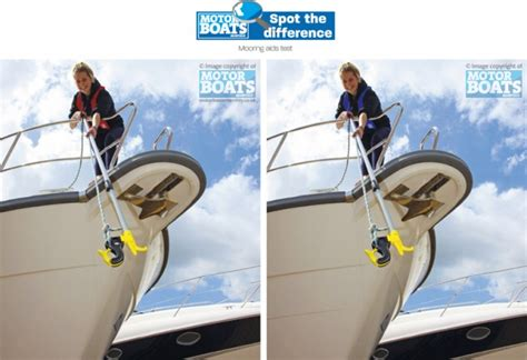 boat mooring aids spot the difference with motor boats monthly motor boat