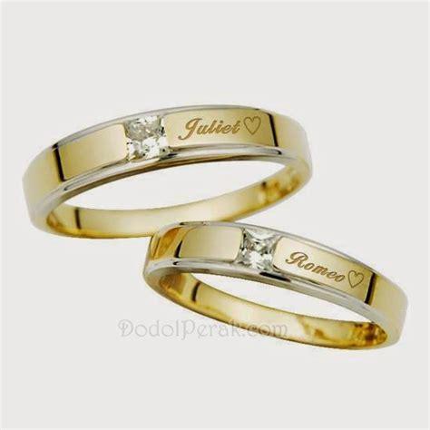 Cincin Cincin Nikah Cincin Tunangan 080 cincin kawin emas 75 12 karat model cincin kawin terbaru models