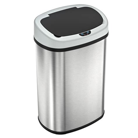 slim kitchen trash can gallon kitchen trash can rubbermaid slim jim resin white front trash cans and recycling bins