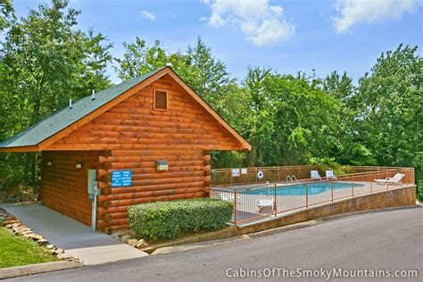 Cabins In Pigeon Forge With Pool Access by Pigeon Forge Cabin 1 Bedroom Sleeps 4