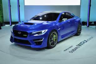 Cars Like Subaru Wrx If You Could Get One Concept Car Into Production What