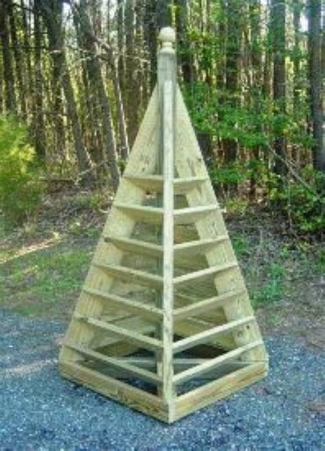 Pyramid Planters by Diy Plans Pyramid Planter Plans Pdf Portable