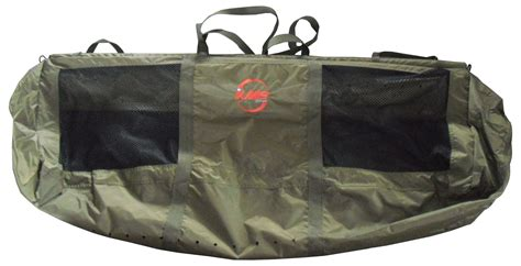 Bag Golf Fg 004 green carp sea fishing safety weigh weighing sling bag floatation new ebay