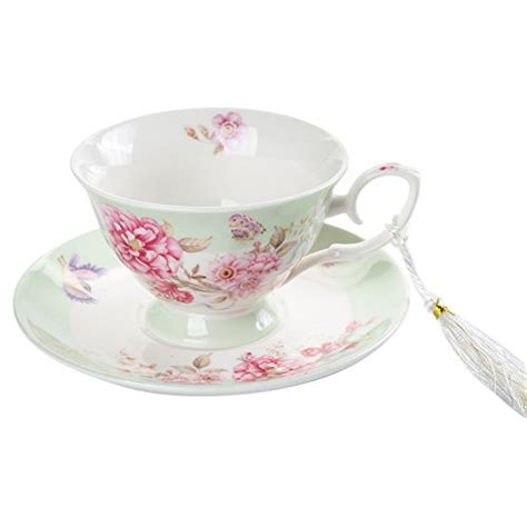 Cup And Saucer Shabby coffee tea cup and saucer set 4 shabby chic vintage