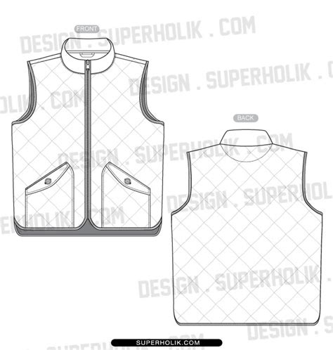 vest top template tops hellovector