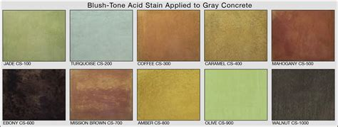 Landscape Structures Color Chart 100 Acid Stain Colors Color Can Best 25 Stained Concrete