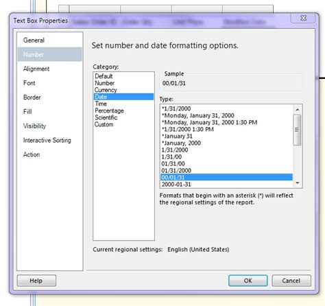 format date ssrs msbi session 11 formatting an ssrs report