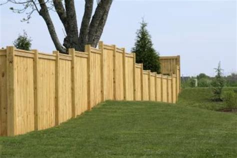 free standing patio fence ideas with pictures ehow