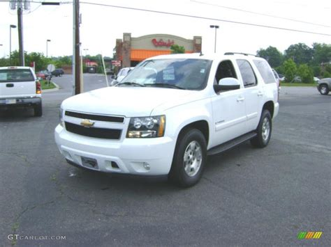 2007 summit white chevrolet tahoe lt 21212265 gtcarlot car color galleries