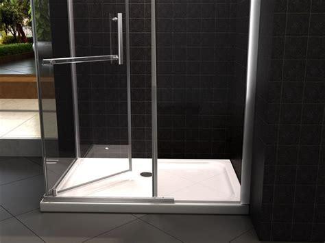 cabina doccia 70x120 box doccia box doccia anta battente in cristallo 8 mm