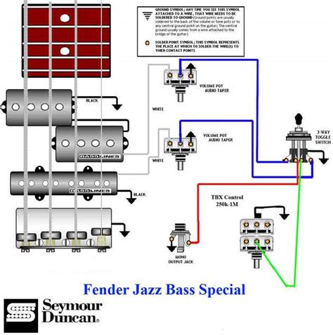 fender jazz bass wiring diagrams wiring automotive