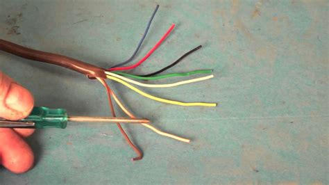 heat thermostat wire color code