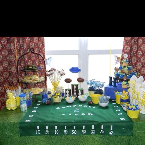 football themed baby shower decorations football themed michigan baby shower but i think i am
