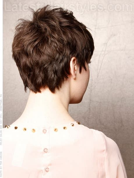 backside of short haircuts pics back of hairstyles for short hair