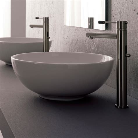 bathrooms with vessel sinks sfera vessel sink zuri furniture