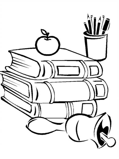 coloring pages of school stuff back to school coloring pages back to school all