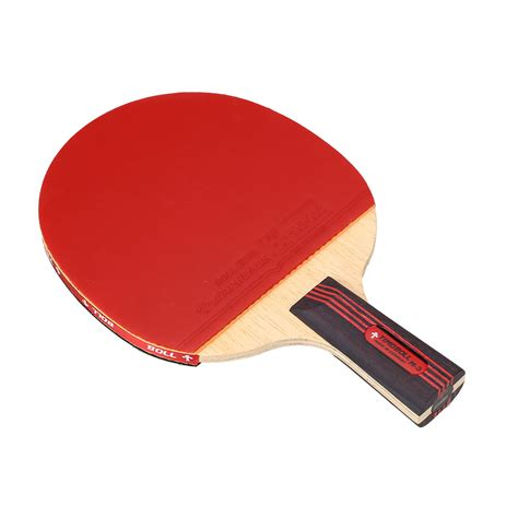 Or Handle Fast 1pcs Rubber Ping Pong Racket Attack Chop Dou table tennis rackets ping pong fast attack pimples in bat handle ebay