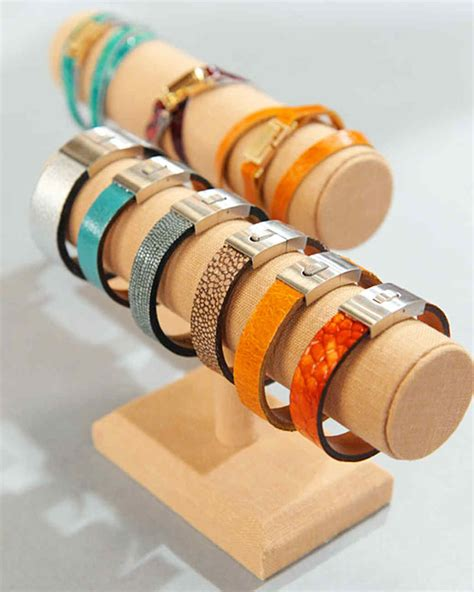 Handmade Leather Cuffs - handmade fabric jewelry martha stewart